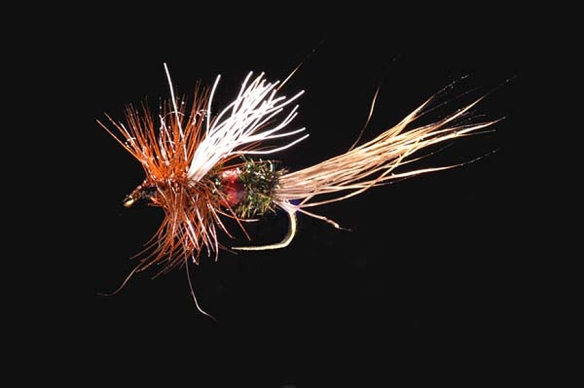 Royal Wulff--one of my favorite patterns, but not what hooked me.
