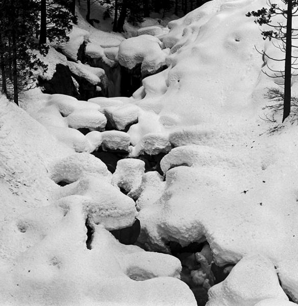 002-71 -- Rubicon River in Winter