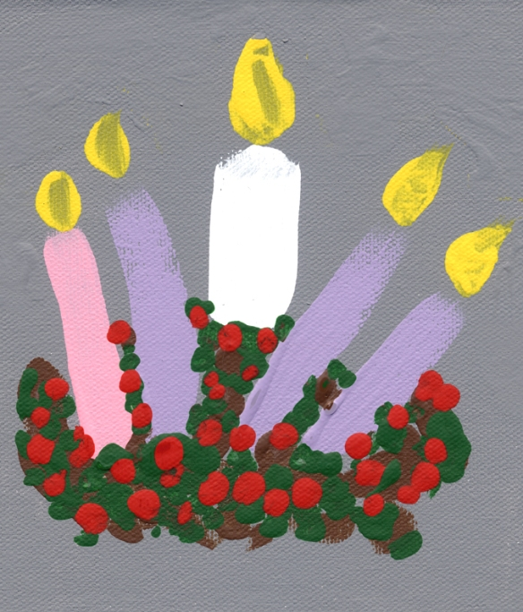 Advent Candles #1
